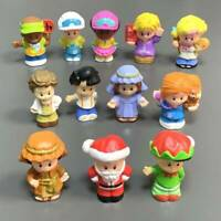 Lot 12 Rare Fisher Price Little People Figure BOYS Toy Figure  Christmas #K1