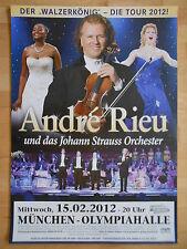 ANDRE RIEU 2012 MÜNCHEN   orig.Concert-Konzert-Tour-Poster-Plakat DIN A1
