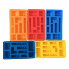 Minifigure Building Brick Silicone Ice Tray Candy Chocolate Mold For Lego Lover