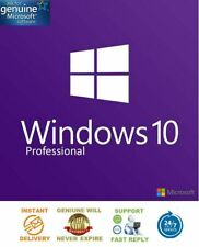 WINDOWS 10 PROFESSIONAL MULTI LANGUAGE 32/64 BIT GENUINE KEY LICENCE