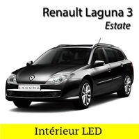 Kit éclairage intérieur ampoules à LED blanc pour Renault Laguna 3  Estate Break