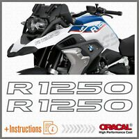2pcs R1250 Grigio BMW R 1250 GS 2019 HP Motorrad ADESIVI STICKERS Adventure