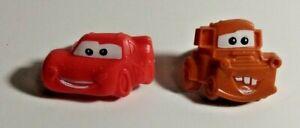 18 Disney's Cars Cupcake Rings - Lightning McQueen & Mater