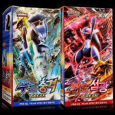 Collection Carte Pokémon XY Impulsion TURBO Blue Red Set Boîte 60 Booster Coréen