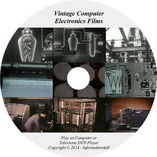 Vintage Computer Electronics 9 Old Films Video on DVD