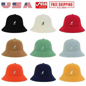 Hip-Hop Fashion Classic Kangol Bermuda Casual Bucket Hat Cap Headwear 10 Colors