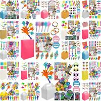 Kids Pre Filled Childrens Boys Girls Party Bags Boxes For Birthday Weddings