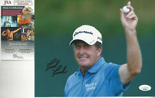 Pro Golfer Fred Funk  autographed 8x10 action color  photo JSA Certified