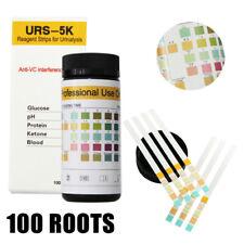 100pcs/Bottle Urine Test Strips For Ketone Glucose PH Protein Blood Reagent