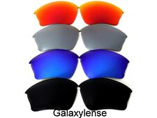 Galaxy Replacement Lenses For Oakley Half Jacket XLJ Black/Blue/Red/Titanium