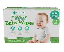 Member's Mark Premium Scented Baby Wipes (1152 ct.)