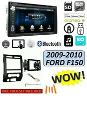 2009-10 FORD F150, 6 BUTTON PANEL TOUCHSCREEN BLUETOOTH USB CD/DVD, STEREO PKG