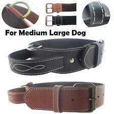 M/L/XL Haustier Hund Halsband Training Necklace & Handle für Mittel Groß Hund MV