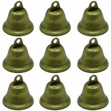 Gold Hand held Bells Call tea jingle Bells Build Ringtones Christmas toyslv HI
