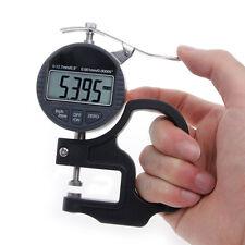 Digital Micrometer 0.001 12.7mm Electronic Thickness Gauge Depth LCD Measurement