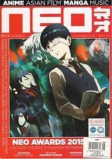 NEO UK Issue 146 March 2016 Naruto Art Anime Manga Asia Japanese Fashion Digimon
