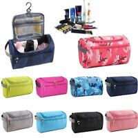 Women Organizer Cosmetic Bag Large Travel Makeup Bag Portable Brush Storage Case