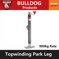 Bulldog Trailer Jack Park Leg Jockey Wheel Stand 900kg Lift Caravan 158452