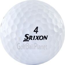 48 Near Mint Srixon Q Star White Used Golf Balls  | Recycled Golf Balls+ Tees