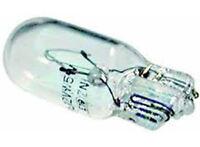 501 SIDE TAIL LIGHT PUSH IN NUMBER PLATE CAPLESS BULB BULBS 12V 5W pk10
