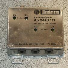 FuG BOS RTK Antennenanpassgerät Hirschmann AP 2410/11 821 405-011