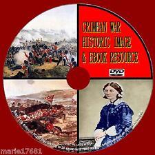 CRIMEAN WAR HISTORIC RESOURCE PC DVD 450+ WAR IMAGES + 50 GREAT PDF BOOKS NEW