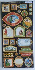 Graphic 45 Mother Goose Chipboard Die Cuts #2  - 1 sheet