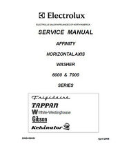 Frigidaire Affinity Washer Service & Repair Manual