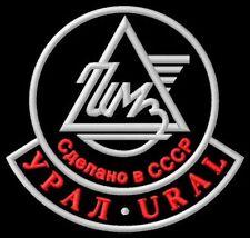 Ural CCCP CCCP The Wolf Retro Solo Cross TWD Parche bordado Thermo-Adhesiv patch