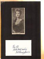 Rosemary Harris-signed photo-17 - coa