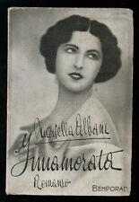 ALBANI MARCELLA INNAMORATA ROMANZO BEMPORAD 1931 AUTOGRAFO I° EDIZ. CINEMA