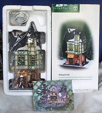 Dept 56 ~ Christmas In The City ~ Wintergarten Cafe *Brand New In Box*