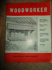 Woodworker May 1961 ~ Retro Vintage Illustrated Magazine + Advertising