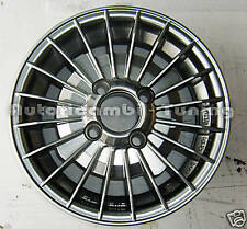 """4 CERCHI IN LEGA DA 12""""FIAT 126 500 GRIFO GRIGIO SUPER LOOK 4½ X 98mm"""