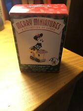 Hallmark 1998 Minnies Luggage Car Merry Miniatures Mickey Express Qrp8506