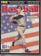 Ted Williams 1918-2002 Beckett ML Baseball Price Issue