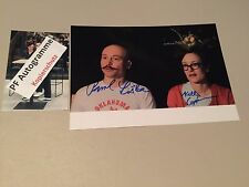 PAVOL LISKA & KELLY COPPER signed Autogramm Foto 20x29