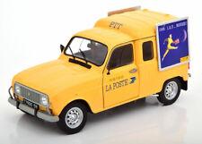 Solido Renault 4LF4 La Poste 1/18 Fourgonnette - Jaune (S1802203)