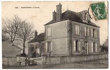 CPA 58 - MONTAPAS (Nièvre) - 1061. L'Ecole