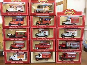 LLEDO Campbell Soup DG & SL models VW Ford A Dennis Bedford Ford Artic Pontiac