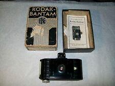 ORIGINAL KODAK BAMTAM CAMARA KODAK f6.3 ANASTIGMAT LENS w/ORIGINAL BOX