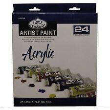 Royal & Langnickel 21ml Artist Paint 24 colour  painting Set - Acrylic