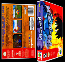 Mega Man 64 - N64 Reproduction Art Case/Box No Game.