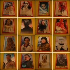 Star Wars Journey to the Last Jedi Base Trading Cards - Buy 4 Get 10 Free *New*