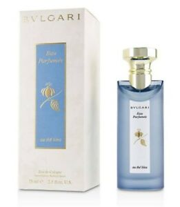 Bvlgari au the bleu Eau Parfumee 75ml Eau de Cologne Authentic Perfume Men Women