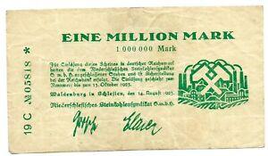 Germany 1,000,000 Mark 1923 aVF