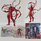 Red Venom Carnage Action Figure Spider Man Statue Model Toy Gift PVC Boxed