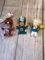Vintage Marching Soldiers And Angel Ornaments A Lot Of Three