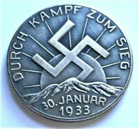 WW2 GERMAN COMMEMORATIVE COLLECTORS REICHSMARK COIN '33