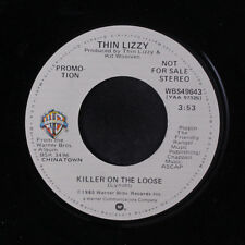 THIN LIZZY: Killer On The Loose / Mono 45 (dj) Rock & Pop